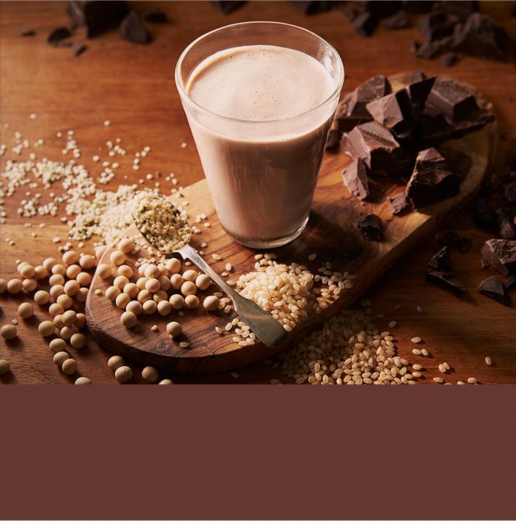 女性に嬉しいカカオポリフェノールが入ったボタニカルライフプロテインチョコ味